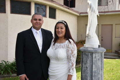 Nene, Edgar married by church March 2020