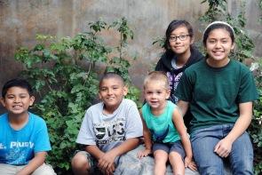 Kids at Arboretum, Santa Anita