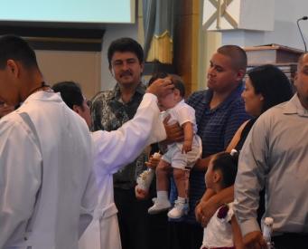 Caleb's Baptism Aug 2019