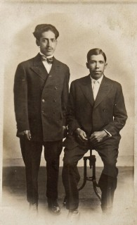 036 Dad's relatives, Gomercindo Perez and Jose Rios