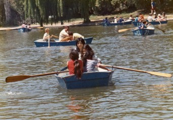 Irvine Lake with Kiki, Cissy, Martie