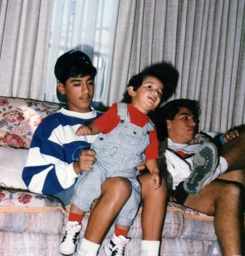 Pops, Tony, David