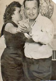 Darío & cousin Sara