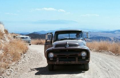 Jarv and his 1956 Ford pickup