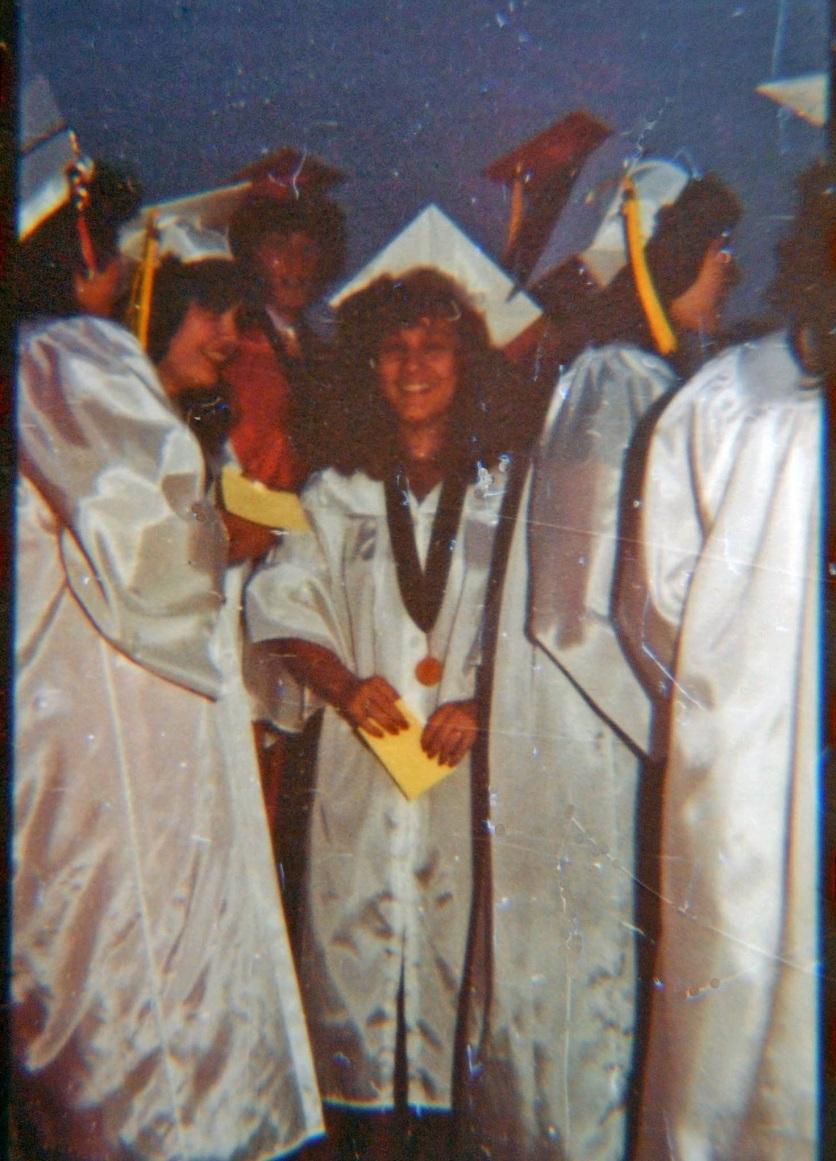 Lupe Vega, Artesia High graduation
