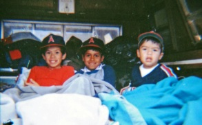 Mario & Luis Castañeda with cousin