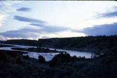Road trip, 1985, midwest lake