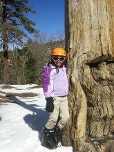 Miranda snowboarding