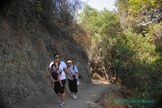Nene, Sarah, Mama at Monrovia Canyon Falls
