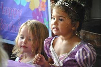 Sami, Princess Bday party
