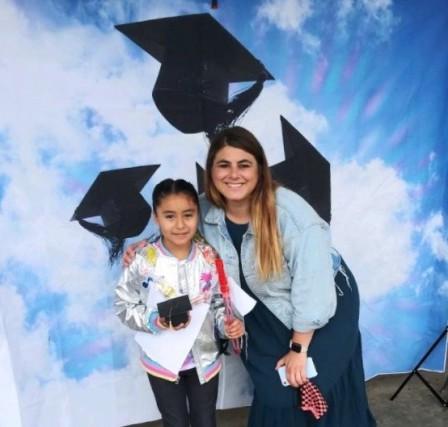 Sarah's Kinder Graduation, June 2020