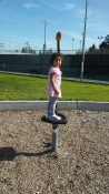 Sarah at park