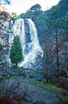 Sequoia Waterfall 1986