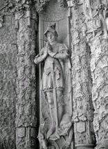 Knight statue, Spain