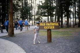 Yellowstone, Old Faithful Geyser,