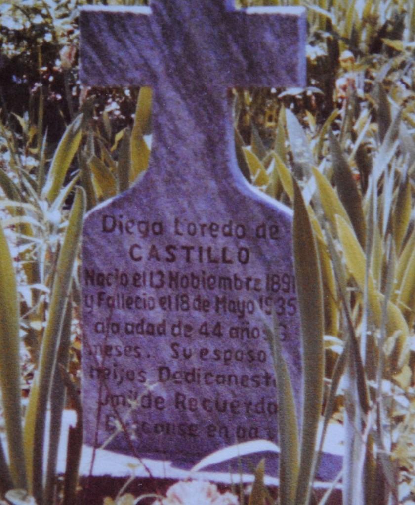 004 Abuelas Headstone, Waco, Tejas